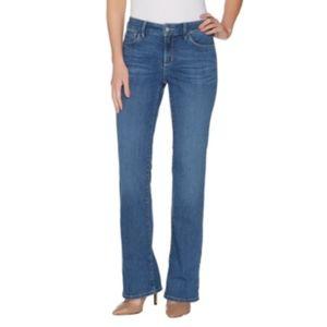 NYDJ Barbara Bootcut Denim Jeans NWT